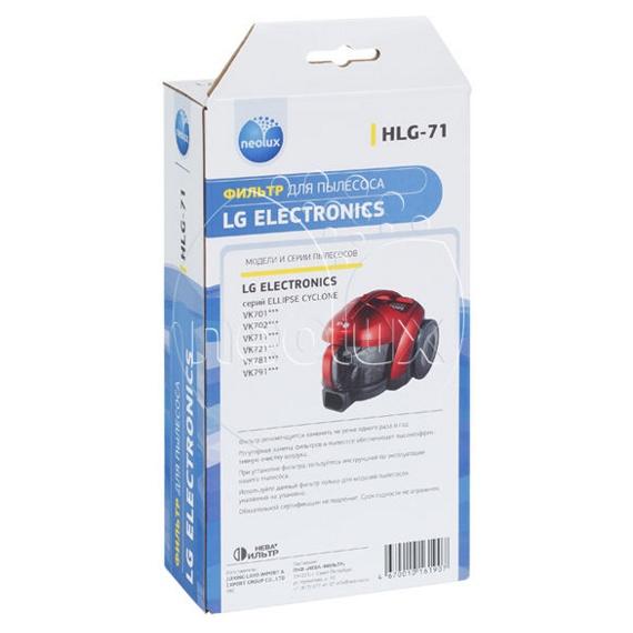 hlg71 6 1 1 - HLG-71_NEOLUX HEPA-фильтр  для  LG (уп. 1 шт.) (ориг код ADQ68101904)